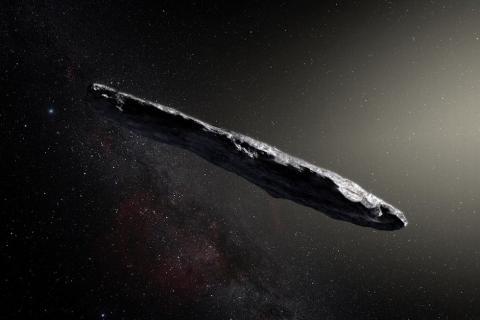 El misterioso asteroide que tiene un origen distinto al Sistema Solar