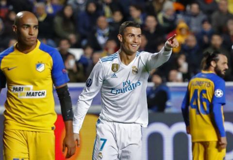 Real Madrid clasifica con goleada a octavos de final de la Champions