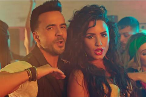 """Échame la culpa"" de Luis Fonsi y Demi Lovato rompe récord en YouTube"
