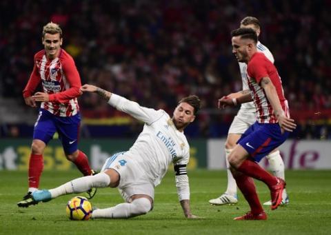 Así luce Sergio Ramos tres días después de la fractura en la nariz