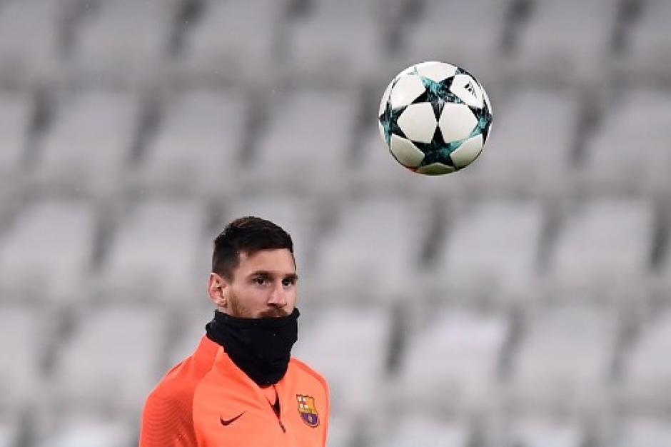 Messi no jugará de titular ante la Juventus