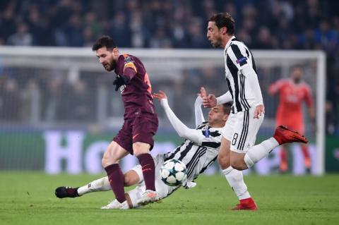 El Barcelona clasifica a octavos de final con su empate en Italia