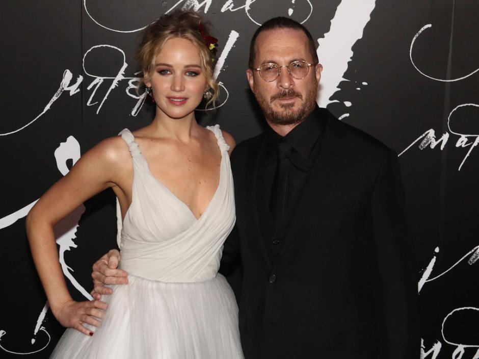 Jennifer Lawrence y Darren Aronofsky se separaron después de un año