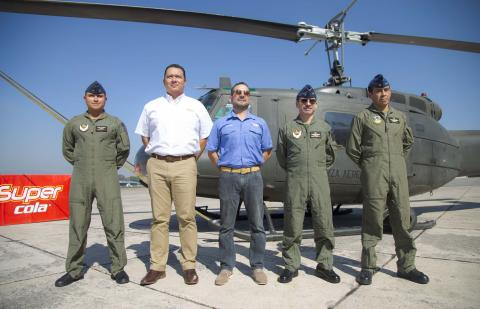 Se acerca el primer show aéreo con aviones y helicópteros en el país