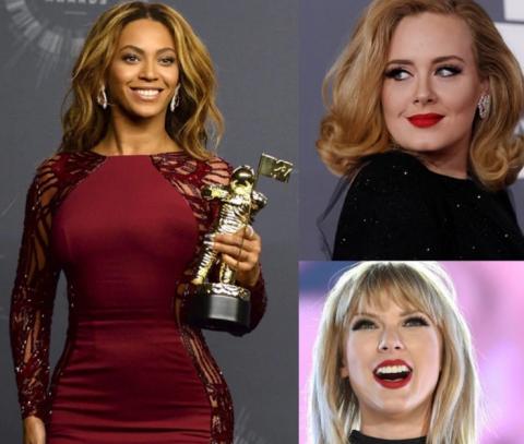 """Conoce a la artista femenina más poderosa del 2017 según """"Forbes"""""""