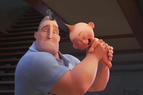 """Tráiler de """"Los Increíbles 2"""" rompe récord en historia de la animación"""