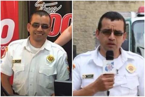 Ciro Camey, el bombero que sacrificó su vida en Quetzaltenango