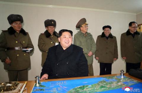 Así vivió Kim Jong-Un la prueba del misil intercontinental