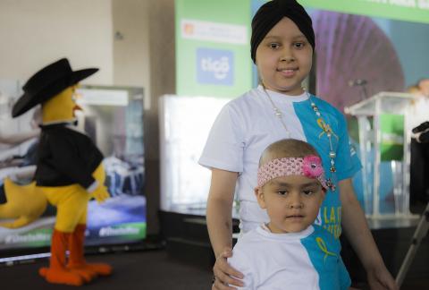 Los niños con cáncer te necesitan