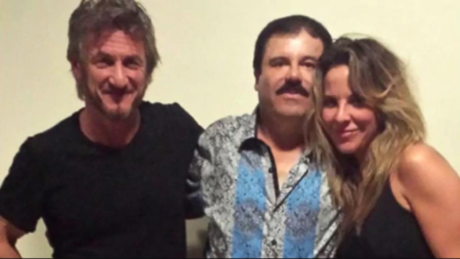 """""""El Chapo"""" enfrenta de nuevo a Sean Penn y Kate del Castillo"""