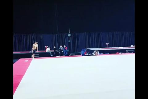 La impresionante rutina de entreno de Jorge Vega previo a la final