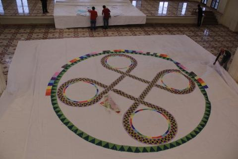 Santo Domingo Xenacoj: un festival de barriletes gigantes diferente