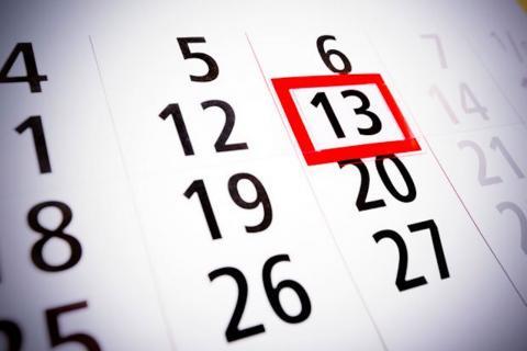 ¡Viernes 13! Mantén una actitud positiva