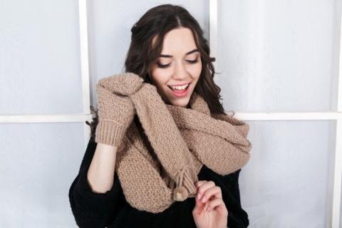 Descubre los estilos para lucir una bufanda perfecta