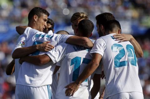 Cristiano Ronaldo anota su primer gol en la Liga de España