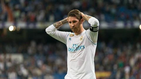 Sergio Ramos jugó enfermo contra el Getafe