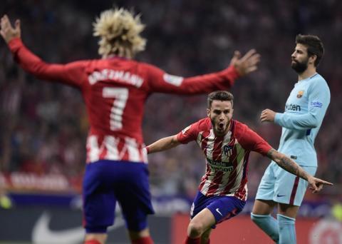 Atlético de Madrid está ganando al Barcelona con este golazo
