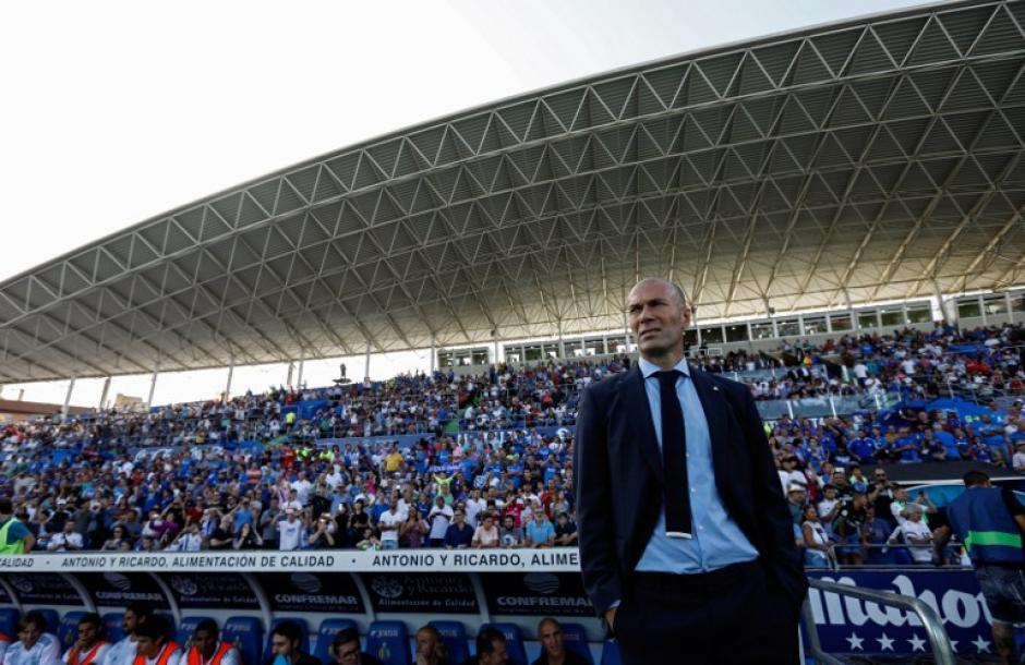Zidane asusta con sus números en sus 100 partidos con el Real Madrid