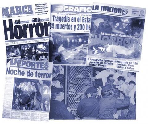 A 21 años de la peor tragedia en el fútbol de Centroamérica