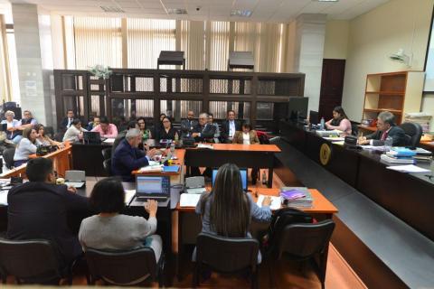 Juez regaña a sindicados del caso La Línea por burlas