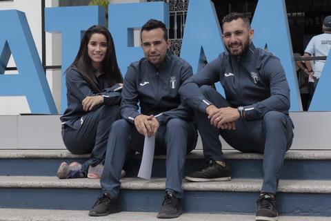 Atletas guatemaltecos competirán en el extranjero