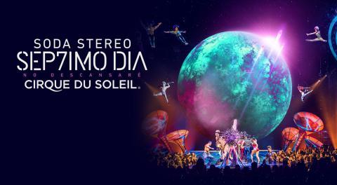 """""""Cirque Du Soleil"""" presentará su tributo a """"Soda Stereo"""" en Guatemala"""