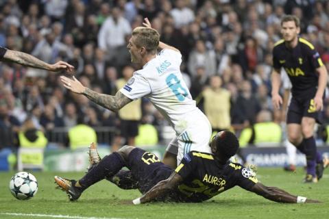 Real Madrid fue sorprendido por un ordenado Tottenham