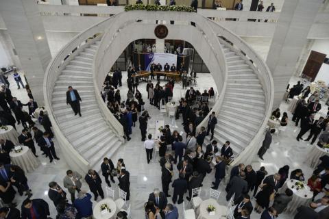 La CSJ gastó más de Q83 mil en la recepción para su nuevo presidente