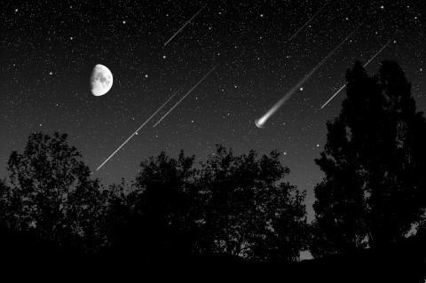 ¿Cómo ver las Oriónidas, la lluvia de estrellas de esta noche?