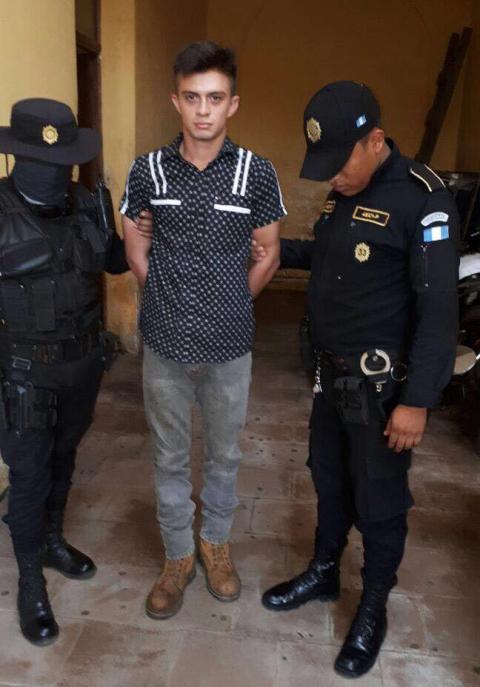 PNC captura a supuesto integrante de banda que asesinó a concejal