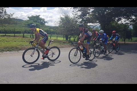 Así se corrió la primera etapa de la Vuelta a Guatemala 2017