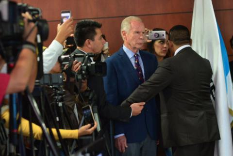 Jueza cita el viernes al MP y a Arzú para pronunciarse por antejuicio