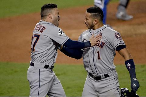 Los Astros superan a los Dodgers y se empata la Serie Mundial