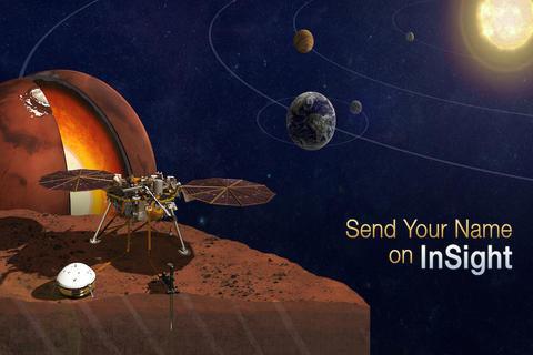 La NASA quiere llevar tu nombre a Marte en su próxima misión espacial