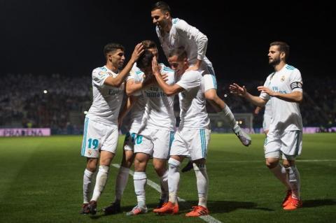 Con dos penaltis el Real Madrid vence al Fuenlabrada por la Copa