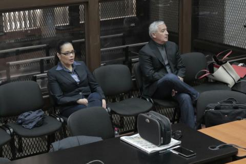 Otto Pérez Molina y Baldetti enfrentarán juicio por el caso La Línea