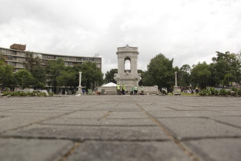 La inauguración de la nueva Plaza España será el 12 de septiembre