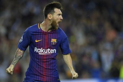 De la mano de Messi el FC Barcelona golea a la Juve en Camp Nou