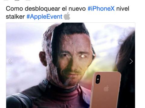 """Los """"memes"""" que acompañan la presentación del iPhone """"X"""""""