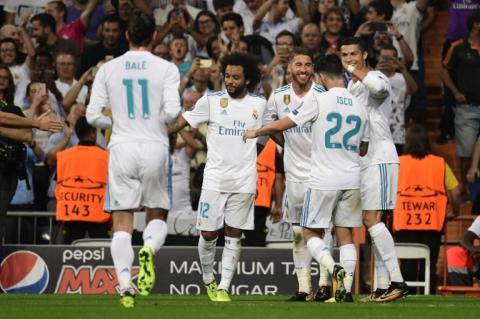 Cristiano Ronaldo inicia con buen pie la Champions y suma 30 dobletes