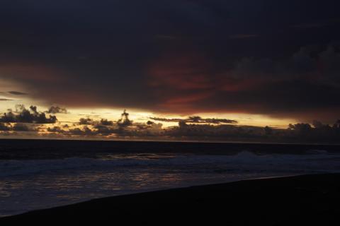 Manchón Guamuchal, un paraíso en las costas de Retalhuleu y San Marcos