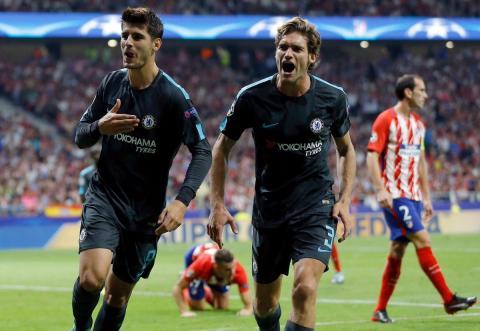 Así fue el triunfo de último minuto del Chelsea en cancha del Atlético
