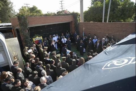 Así le dieron el último adiós al exjefe Estado José Efraín Ríos Montt