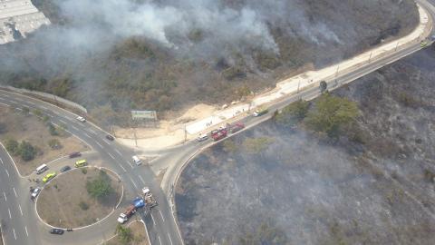 Incendio en El Naranjo: regresaban a casa pero ya no encontraron nada