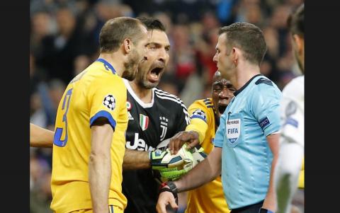 Lo que no se vio de los últimos minutos del Madrid y la Juventus