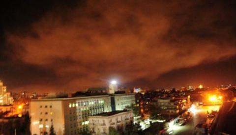 Los videos más impactantes del bombardeo en el corazón de Siria