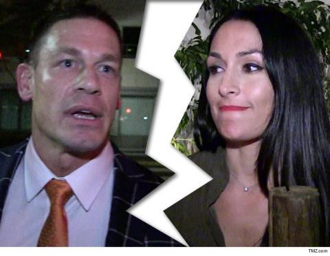 John Cena y Nikki Bella rompen su explosiva relación de seis años