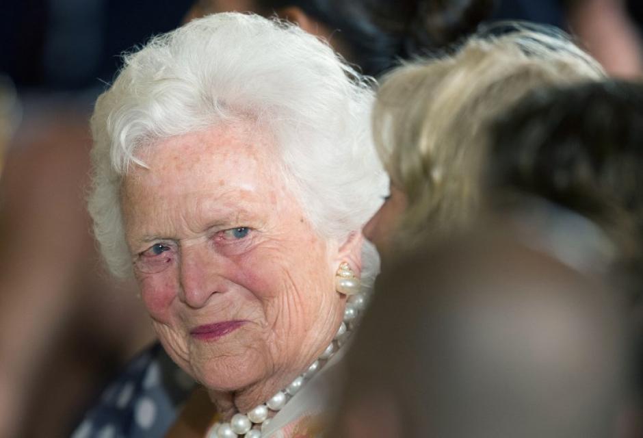 Muere a los 92 años la exprimera dama de EEUU Barbara Bush