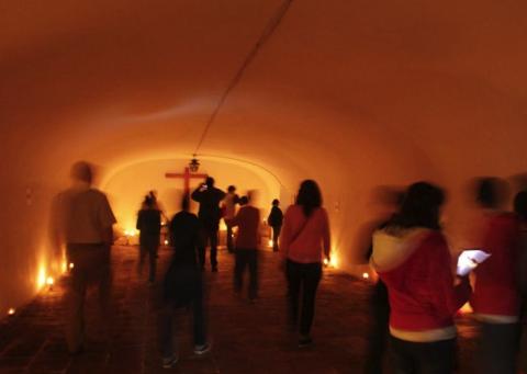 Visita las criptas ocultas del Centro Histórico