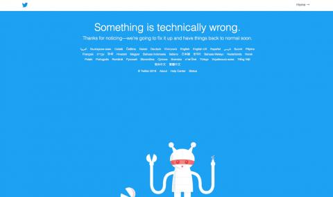¡Pánico mundial! Reportan caída de Twitter